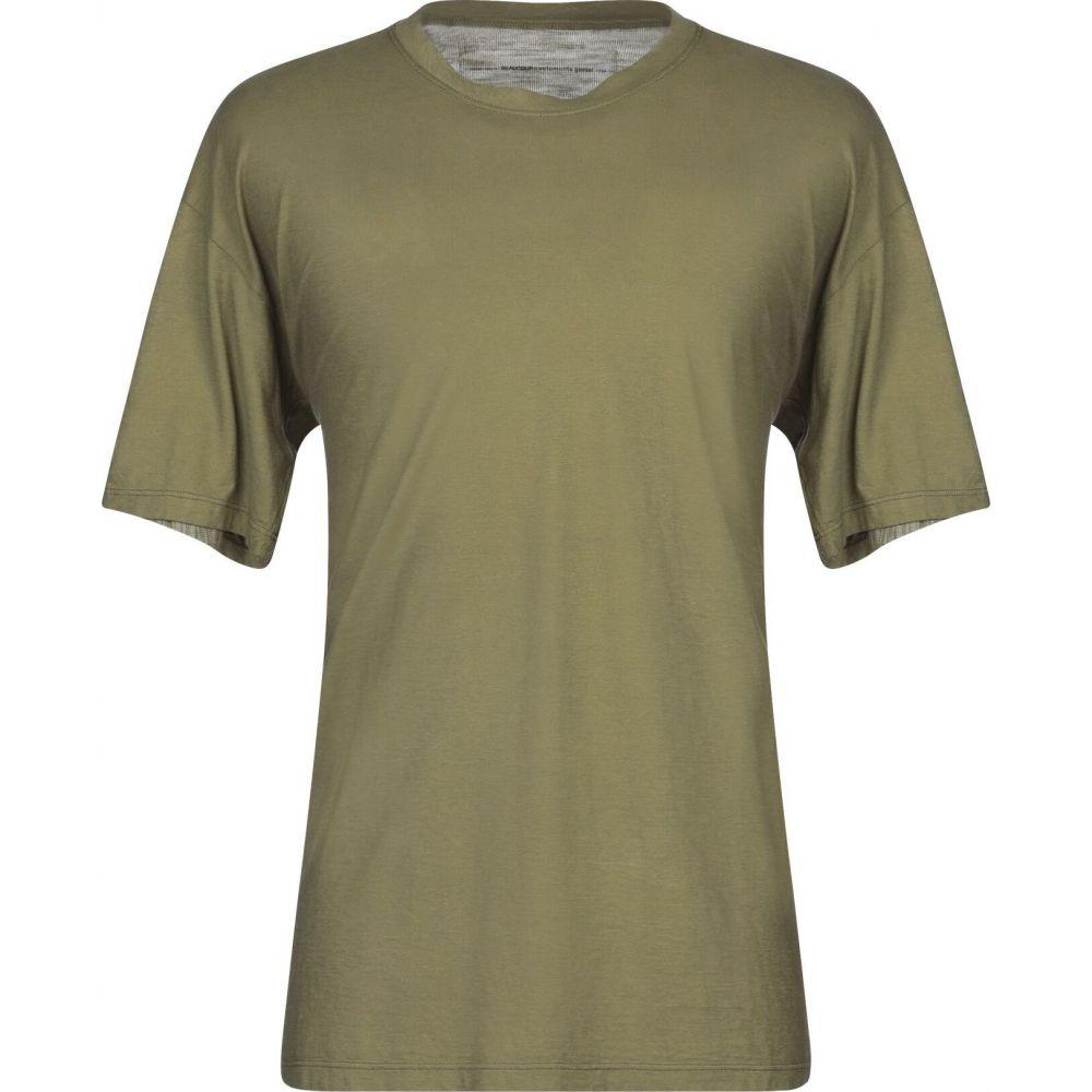 ボクー ..,BEAUCOUP メンズ Tシャツ トップス【t-shirt】Military green