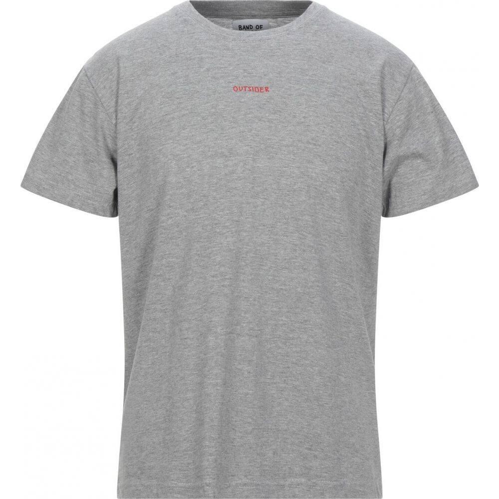 バンドオブアウトサイダーズ BAND OF OUTSIDERS メンズ Tシャツ トップス【t-shirt】Light grey