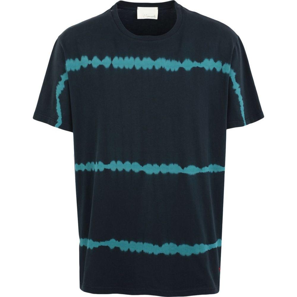 プラスピープル (+) PEOPLE メンズ Tシャツ トップス【t-shirt】Dark blue