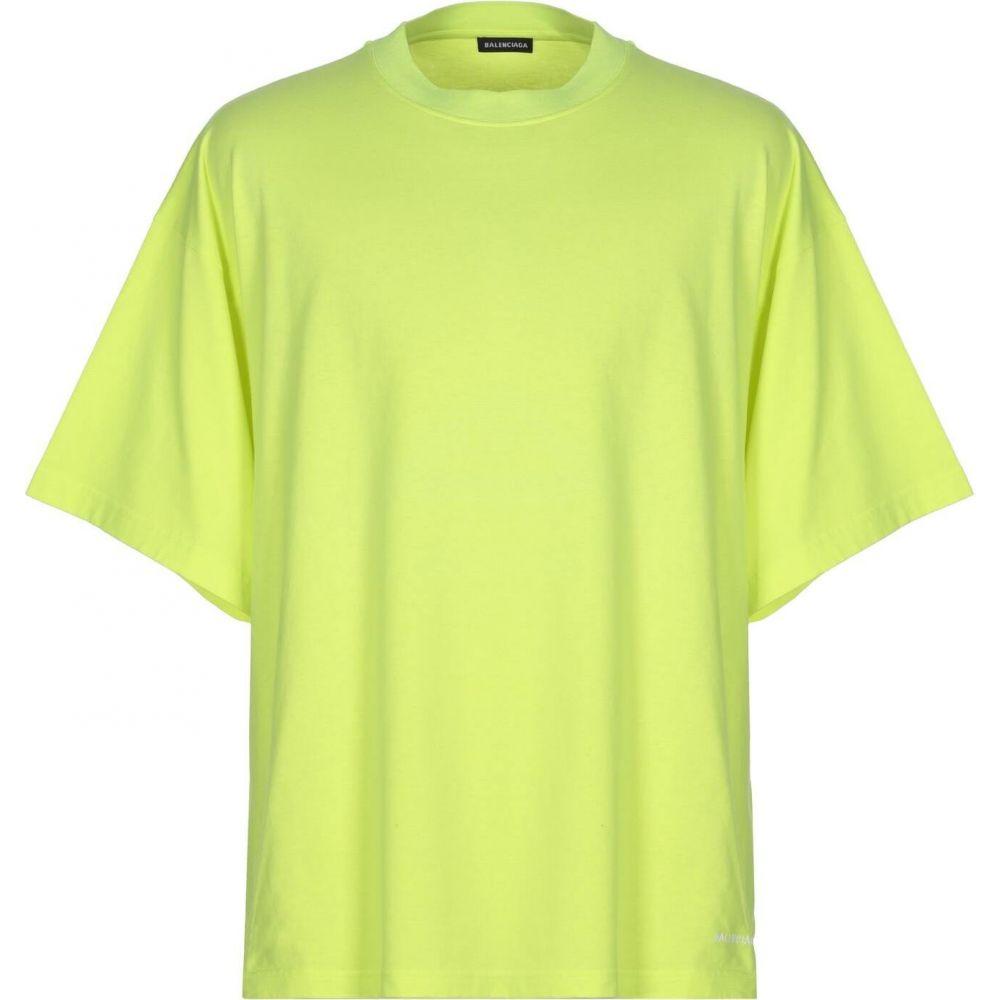 バレンシアガ BALENCIAGA メンズ Tシャツ トップス【t-shirt】Yellow