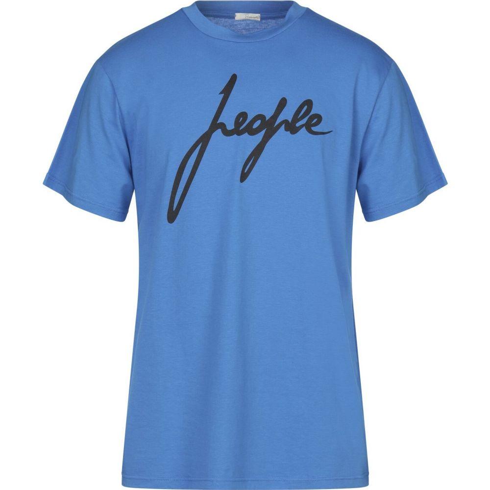プラスピープル (+) PEOPLE メンズ Tシャツ トップス【t-shirt】Azure