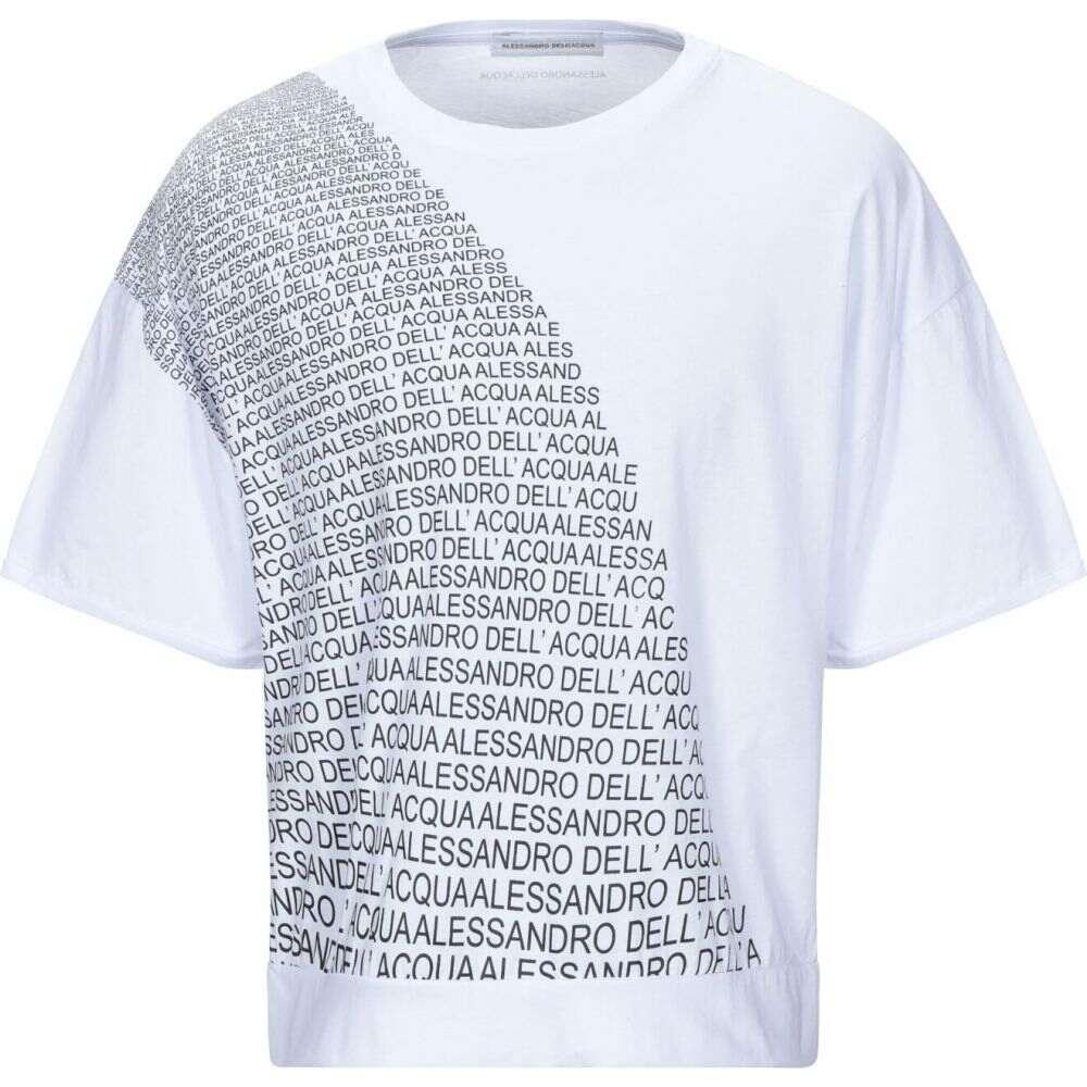 アレッサンドロ デラクア ALESSANDRO DELL'ACQUA メンズ Tシャツ トップス【t-shirt】White