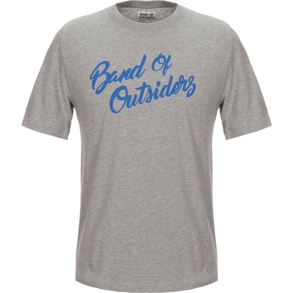 バンドオブアウトサイダーズ BAND OF OUTSIDERS メンズ Tシャツ トップス【t-shirt】Grey