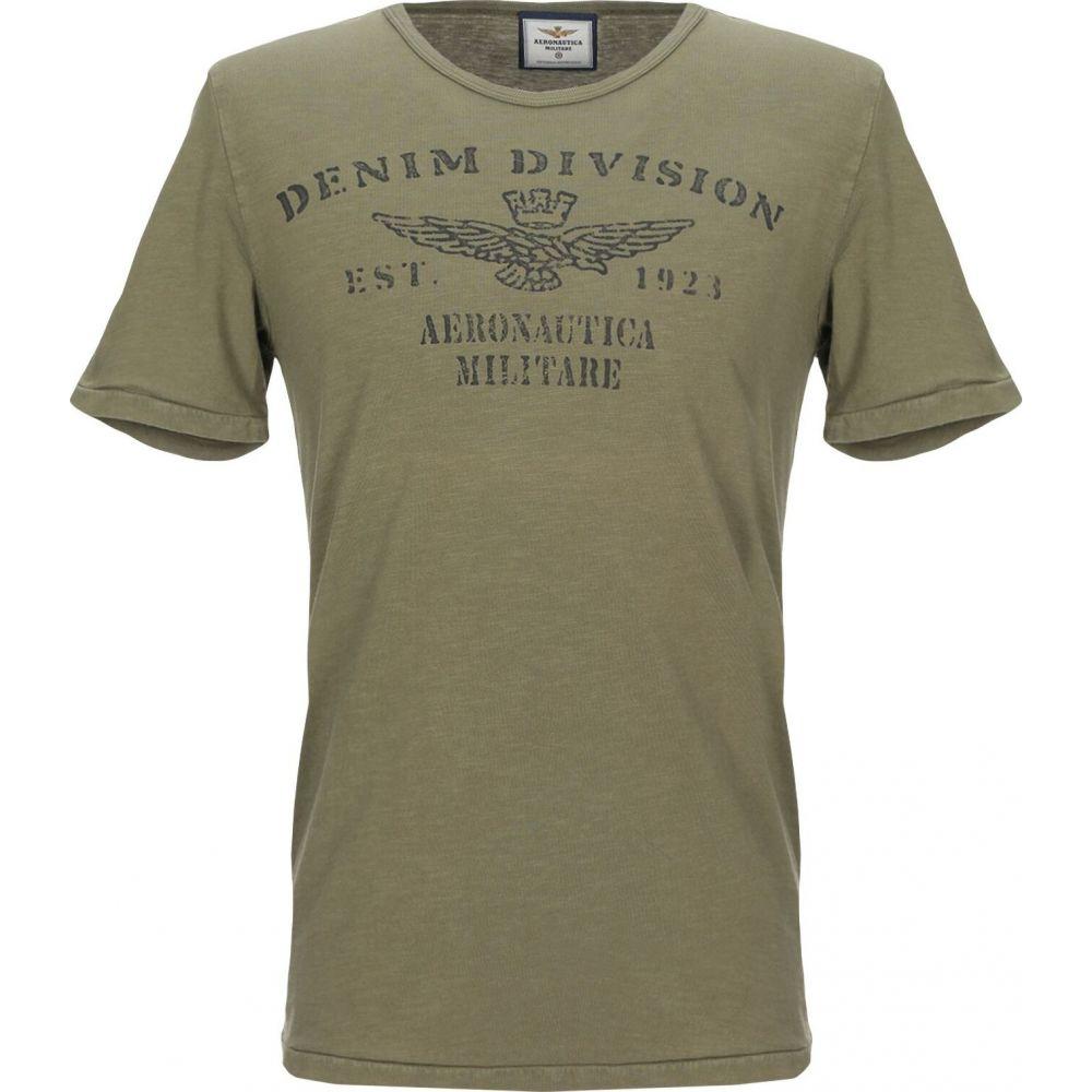 アエロナウティカ ミリターレ AERONAUTICA MILITARE メンズ Tシャツ トップス【t-shirt】Military green