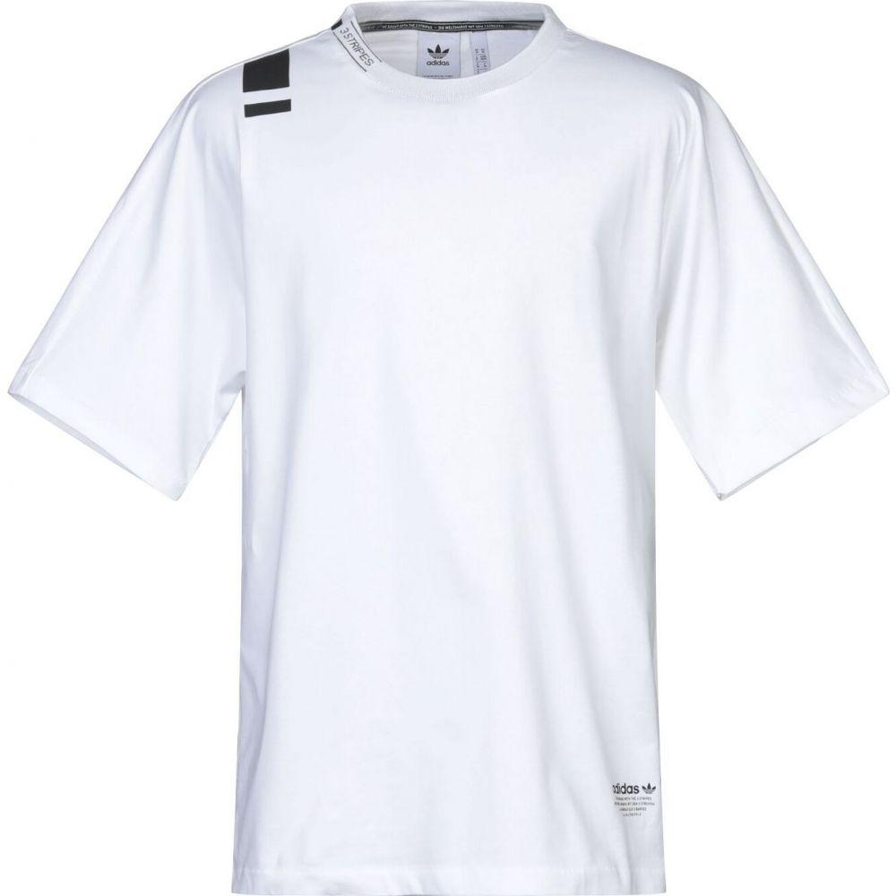 アディダス ADIDAS ORIGINALS メンズ Tシャツ トップス【t-shirt】White