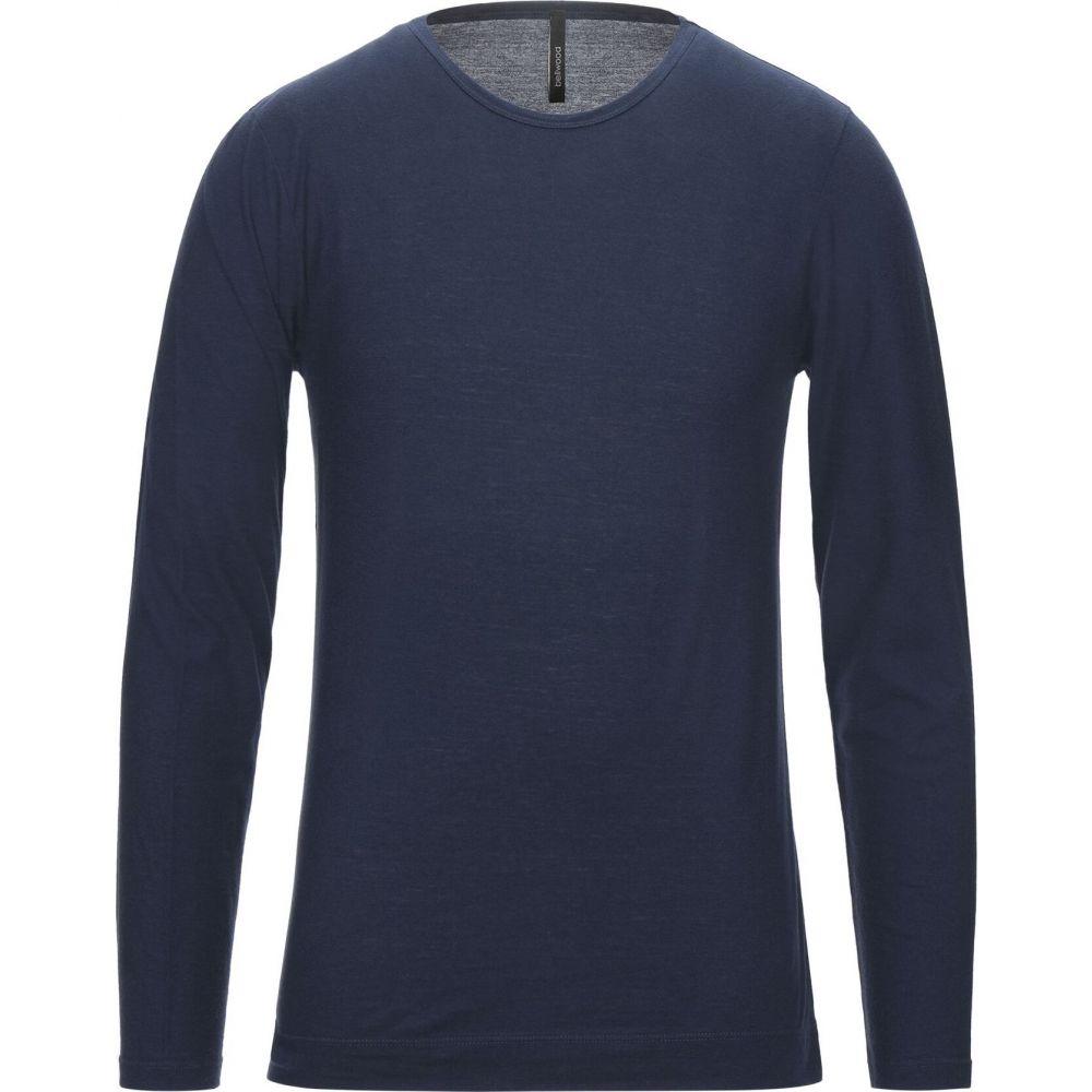 ベルウッド BELLWOOD メンズ Tシャツ トップス【t-shirt】Blue