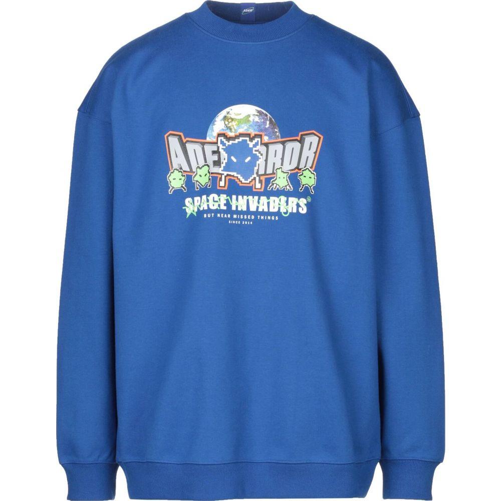 アーダーエラー ADER ERROR メンズ Tシャツ トップス【t-shirt】Bright blue
