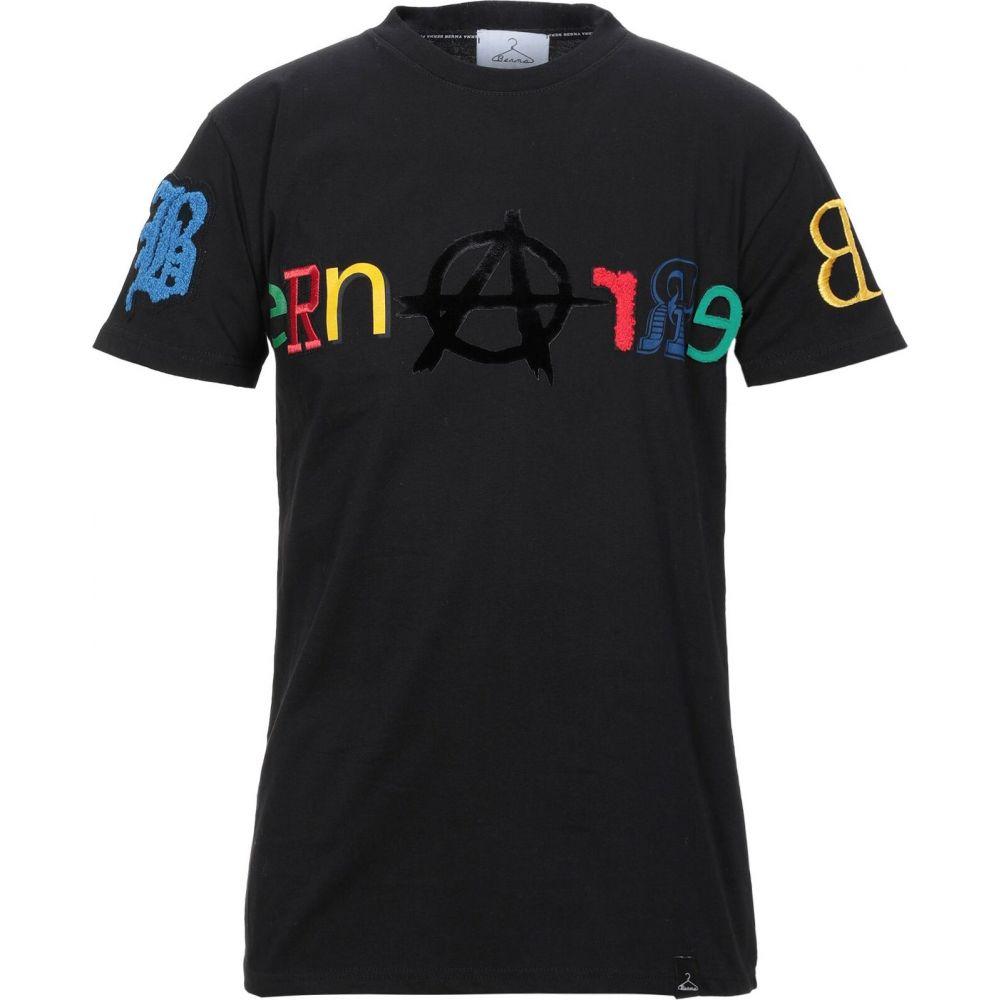 ベルナ BERNA メンズ Tシャツ トップス【t-shirt】Black