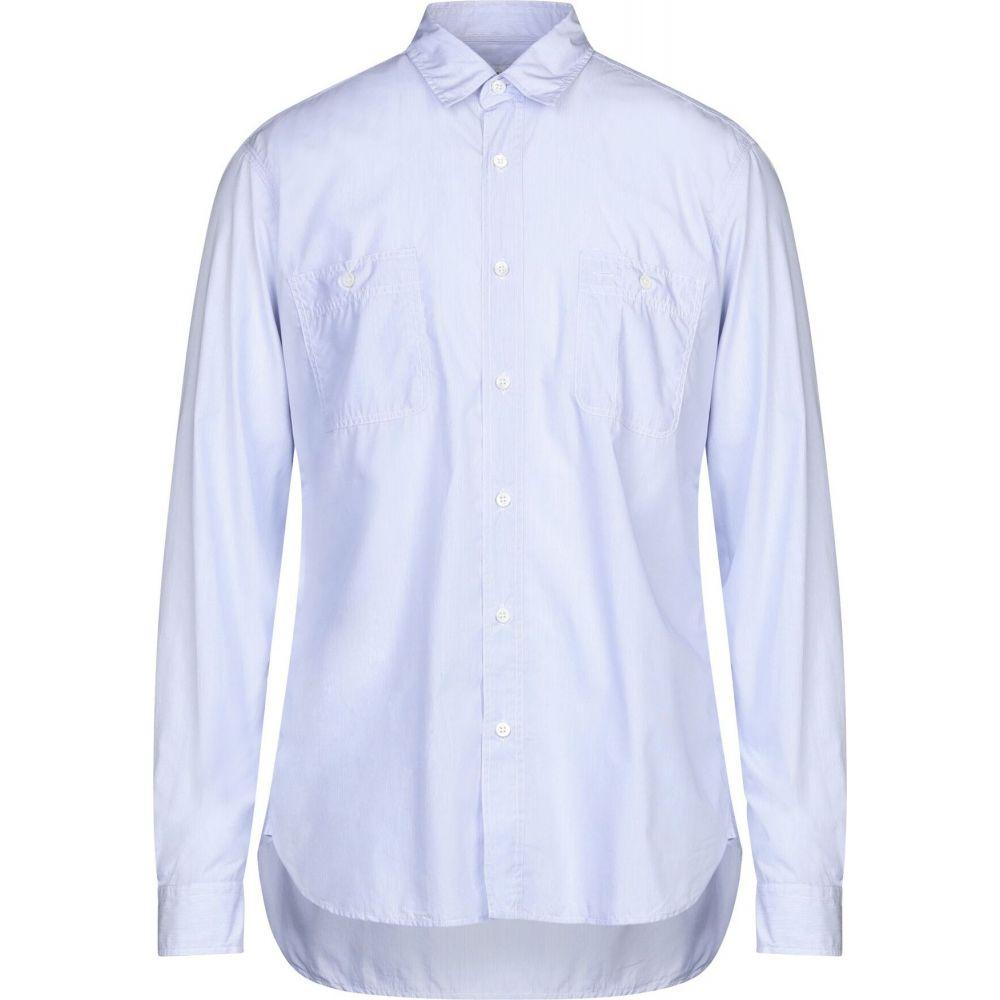 プレジデンツ PRESIDENT'S メンズ シャツ トップス【striped shirt】Blue