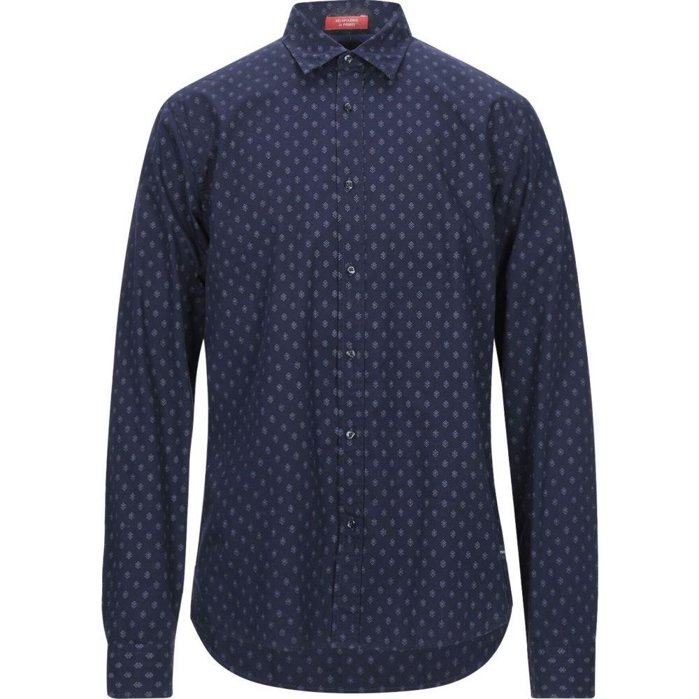 スコッチ&ソーダ SCOTCH & SODA メンズ シャツ トップス【patterned shirt】Dark blue