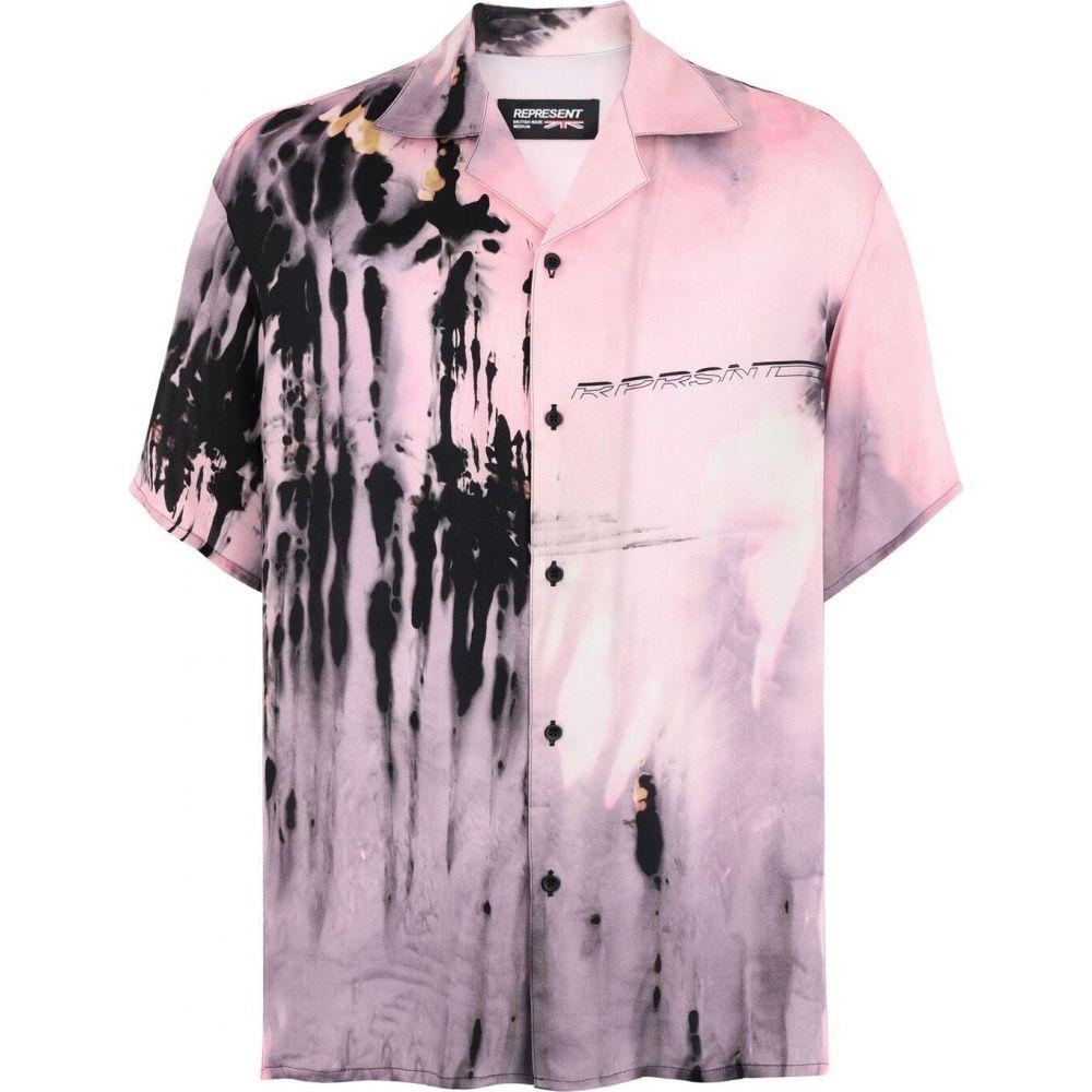 リプレゼント REPRESENT メンズ シャツ トップス【shirt patterned shirt】Pink