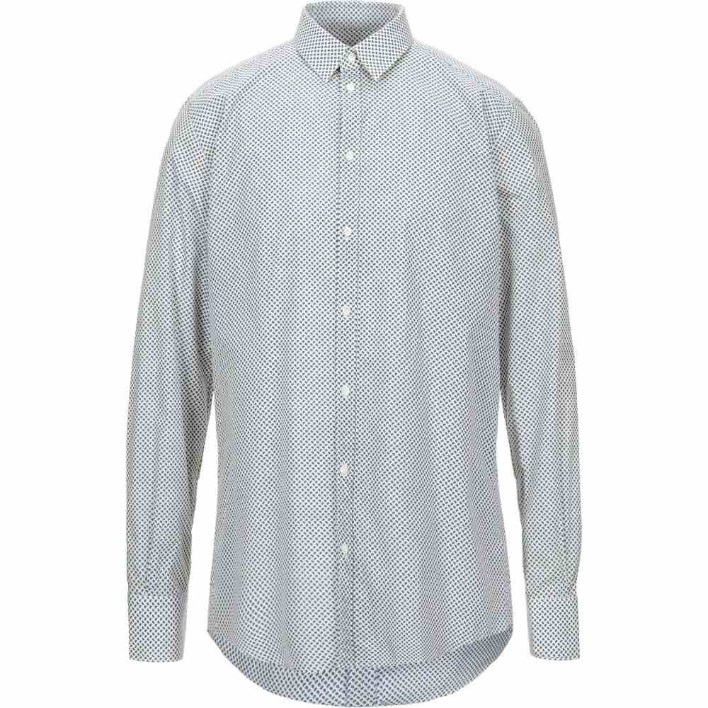 ラフムーア RAF MOORE メンズ シャツ トップス【patterned shirt】Dark blue