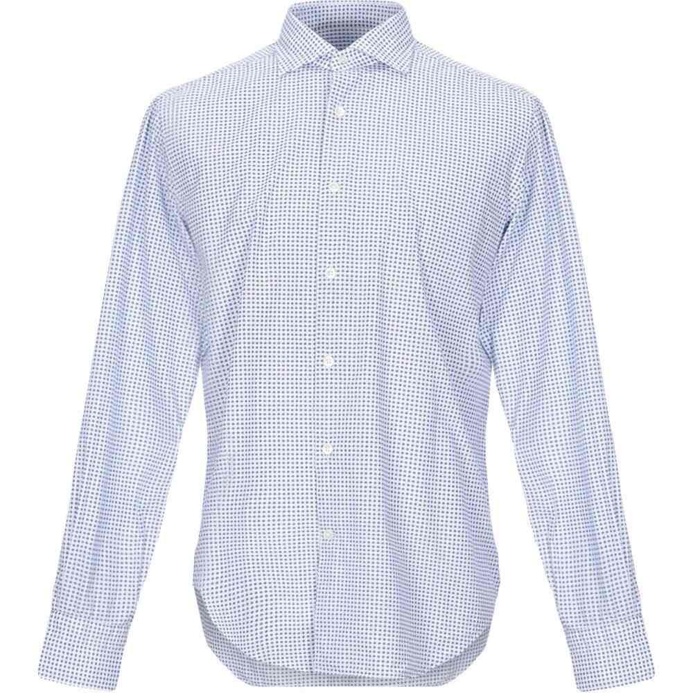 ロダ RODA メンズ シャツ トップス【patterned shirt】Dark blue