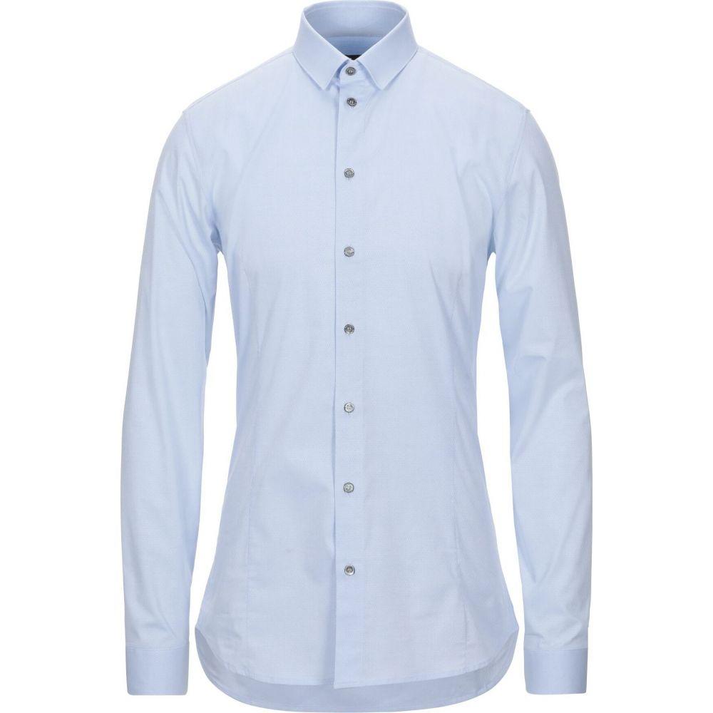 パトリツィア ペペ PATRIZIA PEPE メンズ シャツ トップス【patterned shirt】Sky blue