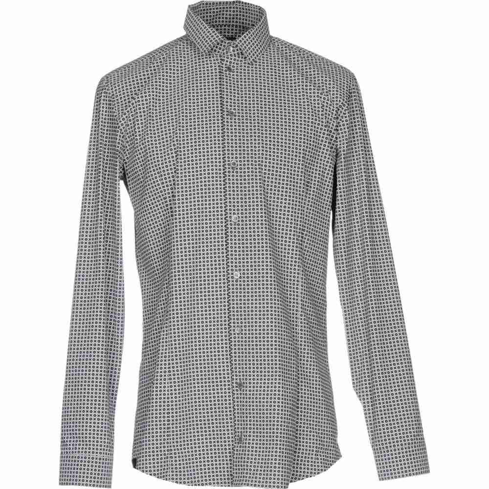 パトリツィア ペペ PATRIZIA PEPE メンズ シャツ トップス【patterned shirt】Grey