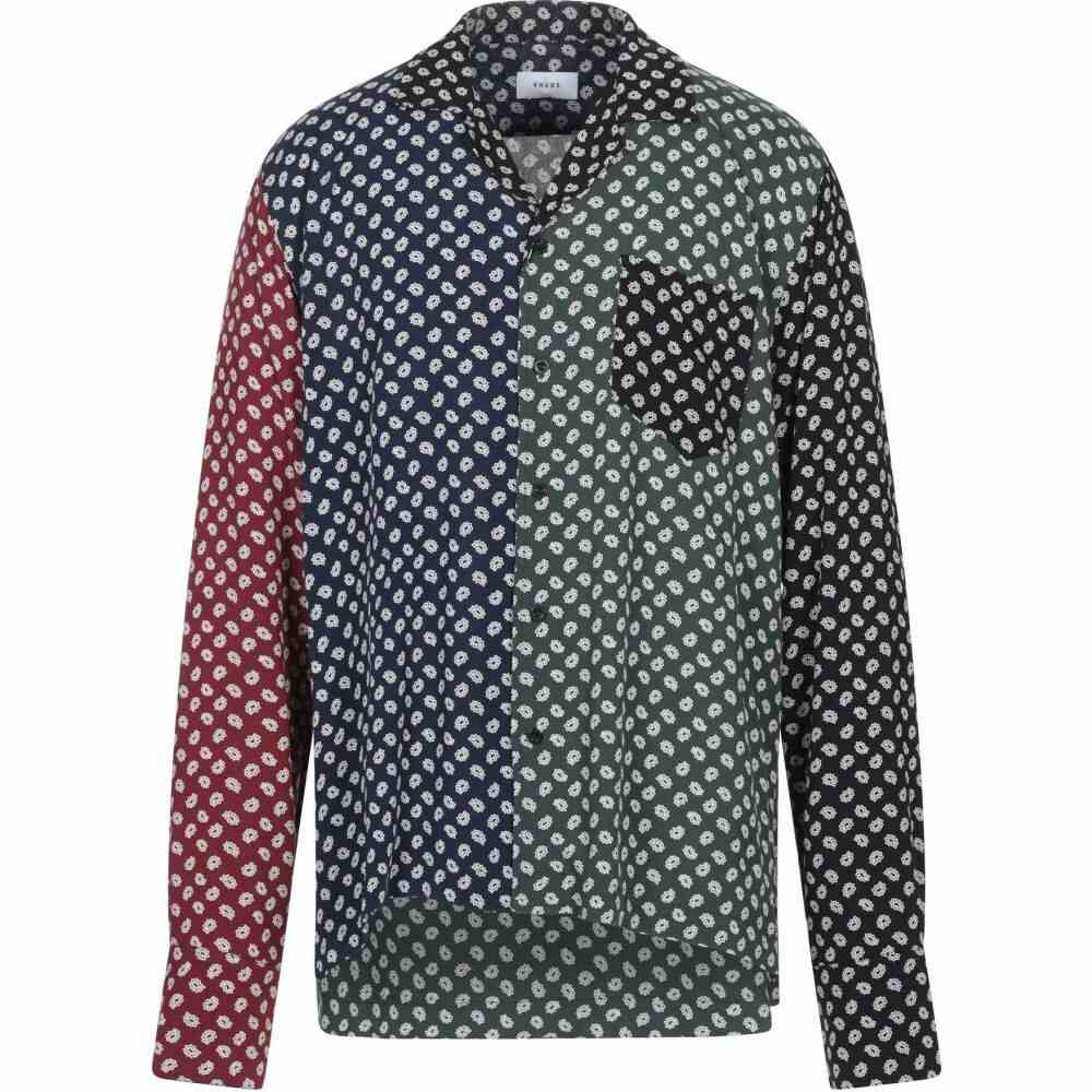 ルード RHUDE メンズ シャツ トップス【patterned shirt】Blue