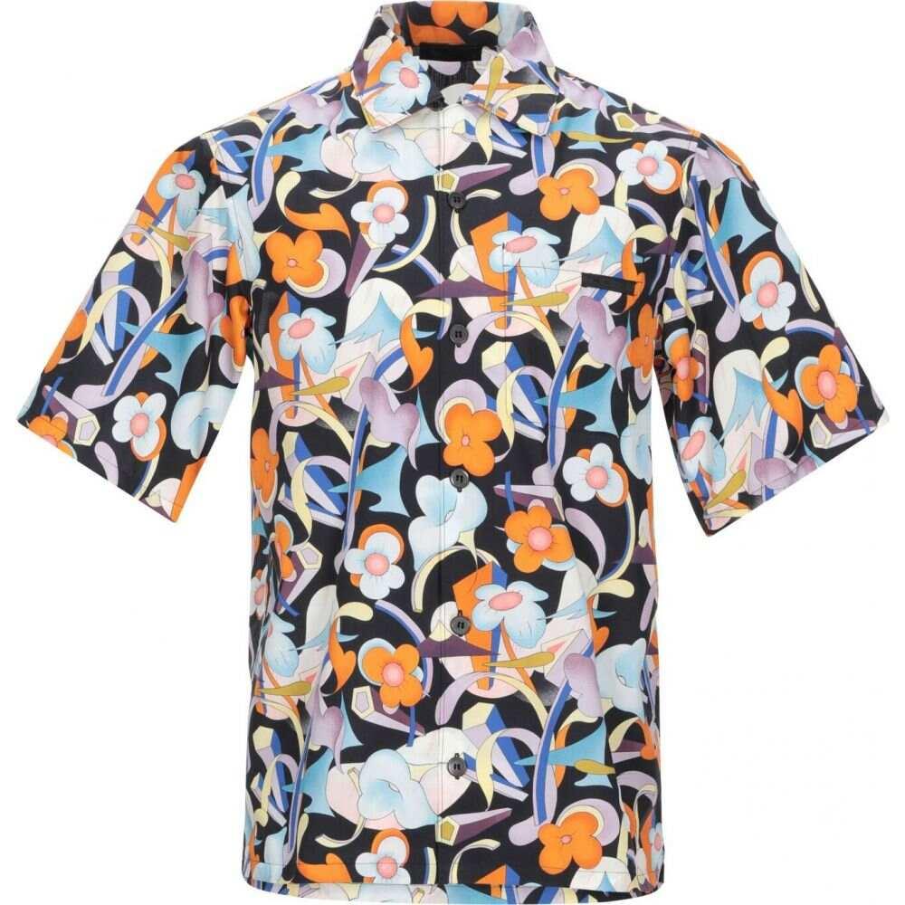 プラダ PRADA メンズ シャツ トップス【patterned shirt】Orange