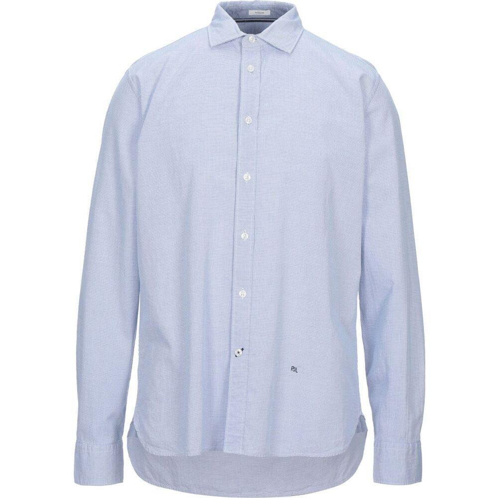 ペペジーンズ PEPE JEANS メンズ シャツ トップス【checked shirt】Sky blue