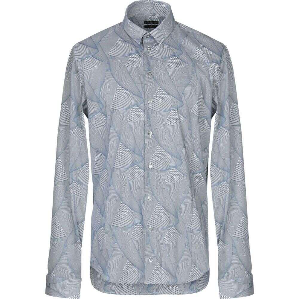パトリツィア ペペ PATRIZIA PEPE メンズ シャツ トップス【patterned shirt】Slate blue