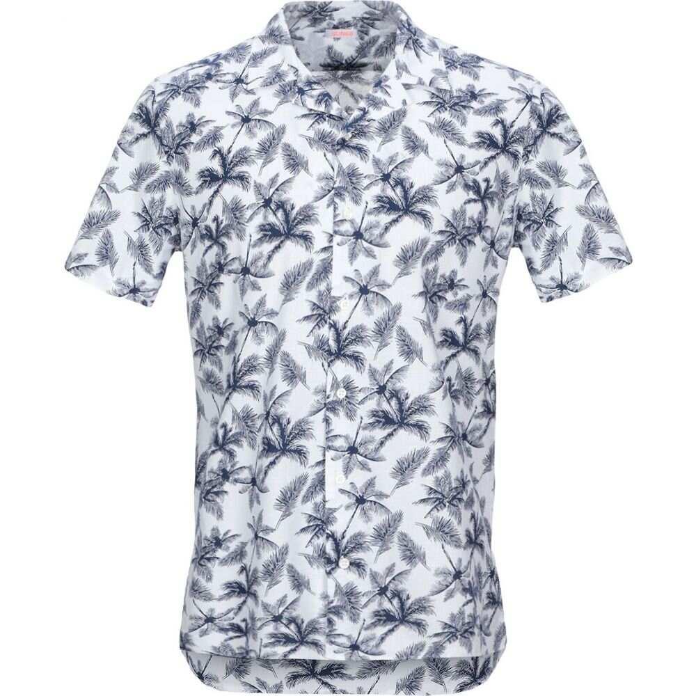 サン シックスティーエイト SUN 68 メンズ シャツ トップス【patterned shirt】Dark blue