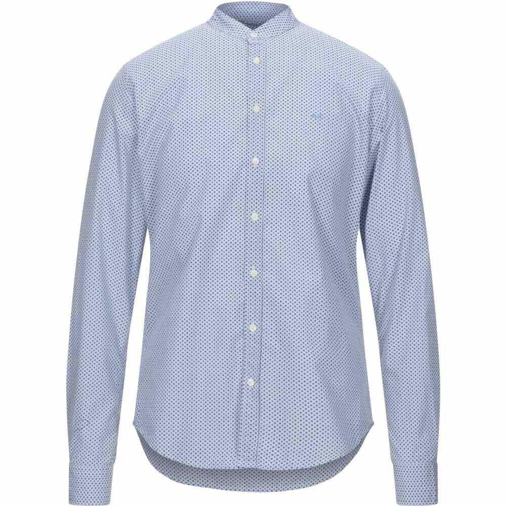 サン シックスティーエイト SUN 68 メンズ シャツ トップス【patterned shirt】Sky blue