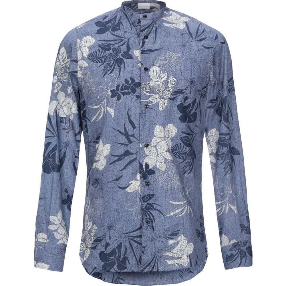 プリモエンポリオ PRIMO EMPORIO メンズ シャツ トップス【patterned shirt】Blue
