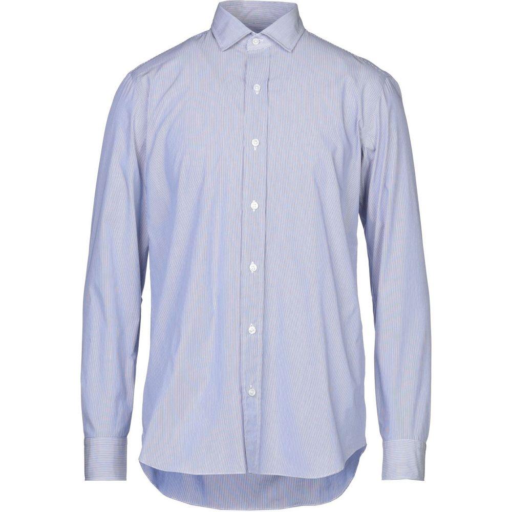 サルヴァトーレピッコロ SALVATORE PICCOLO メンズ シャツ トップス【striped shirt】Dark blue