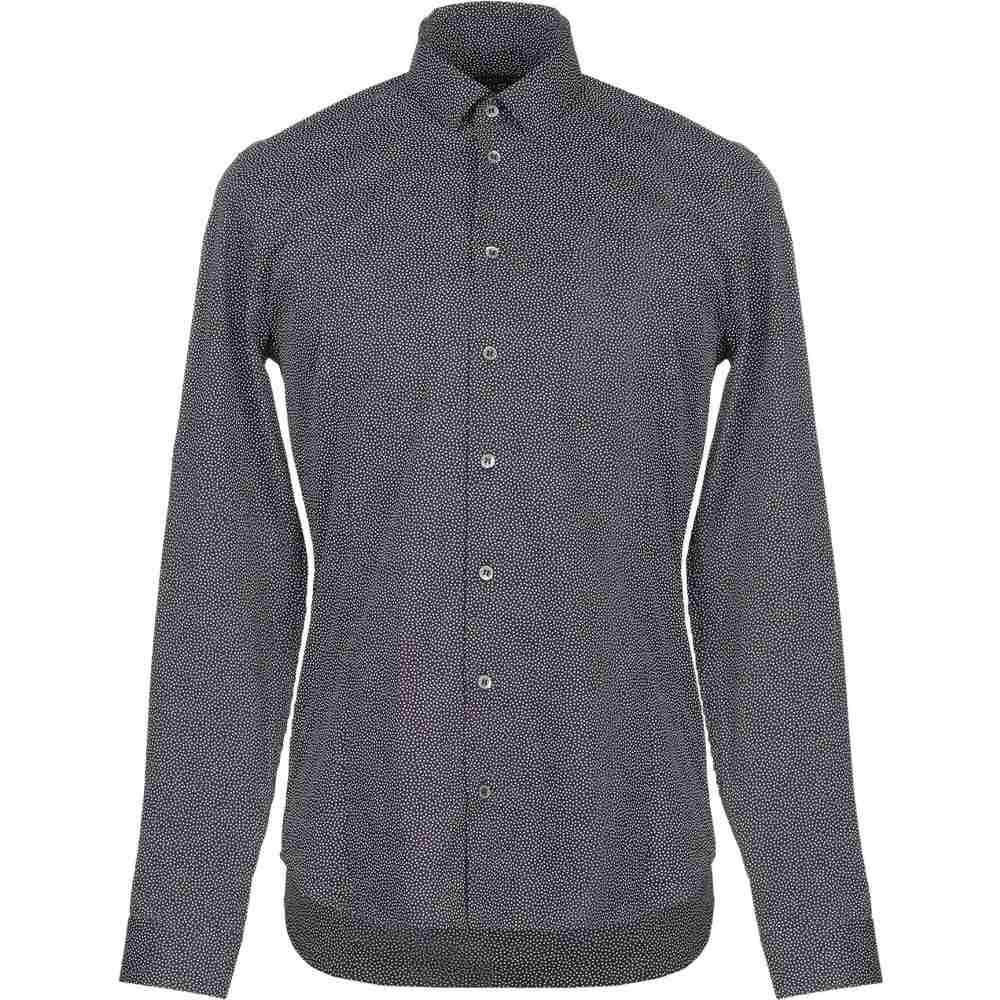パトリツィア ペペ PATRIZIA PEPE メンズ シャツ トップス【patterned shirt】Steel grey