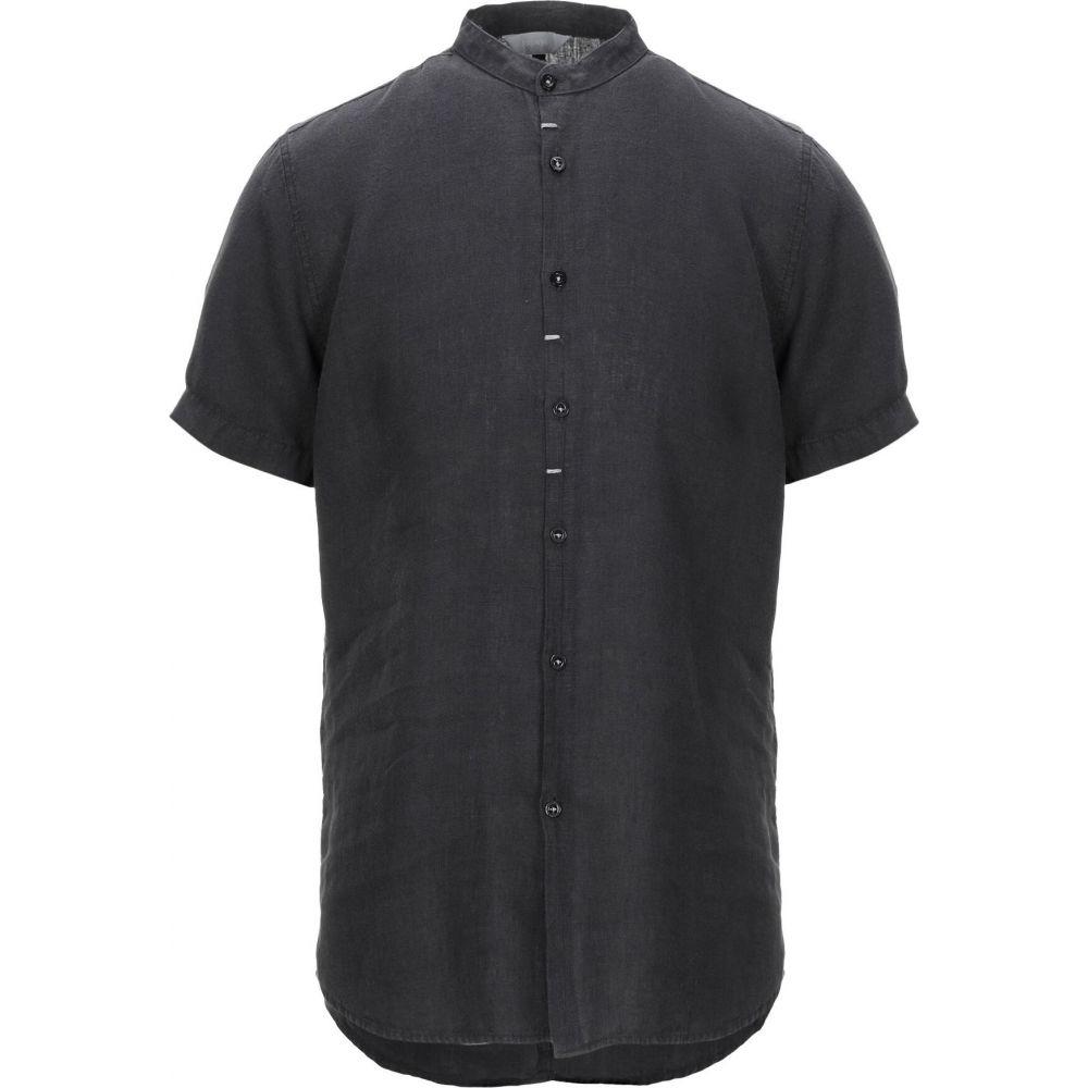 センス SSEINSE メンズ シャツ トップス【linen shirt】Black