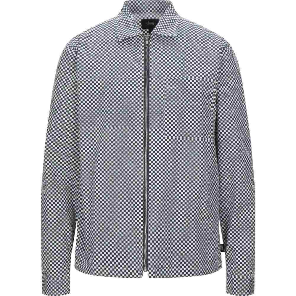 ステューシー STUSSY メンズ シャツ トップス【checked shirt】Dark blue