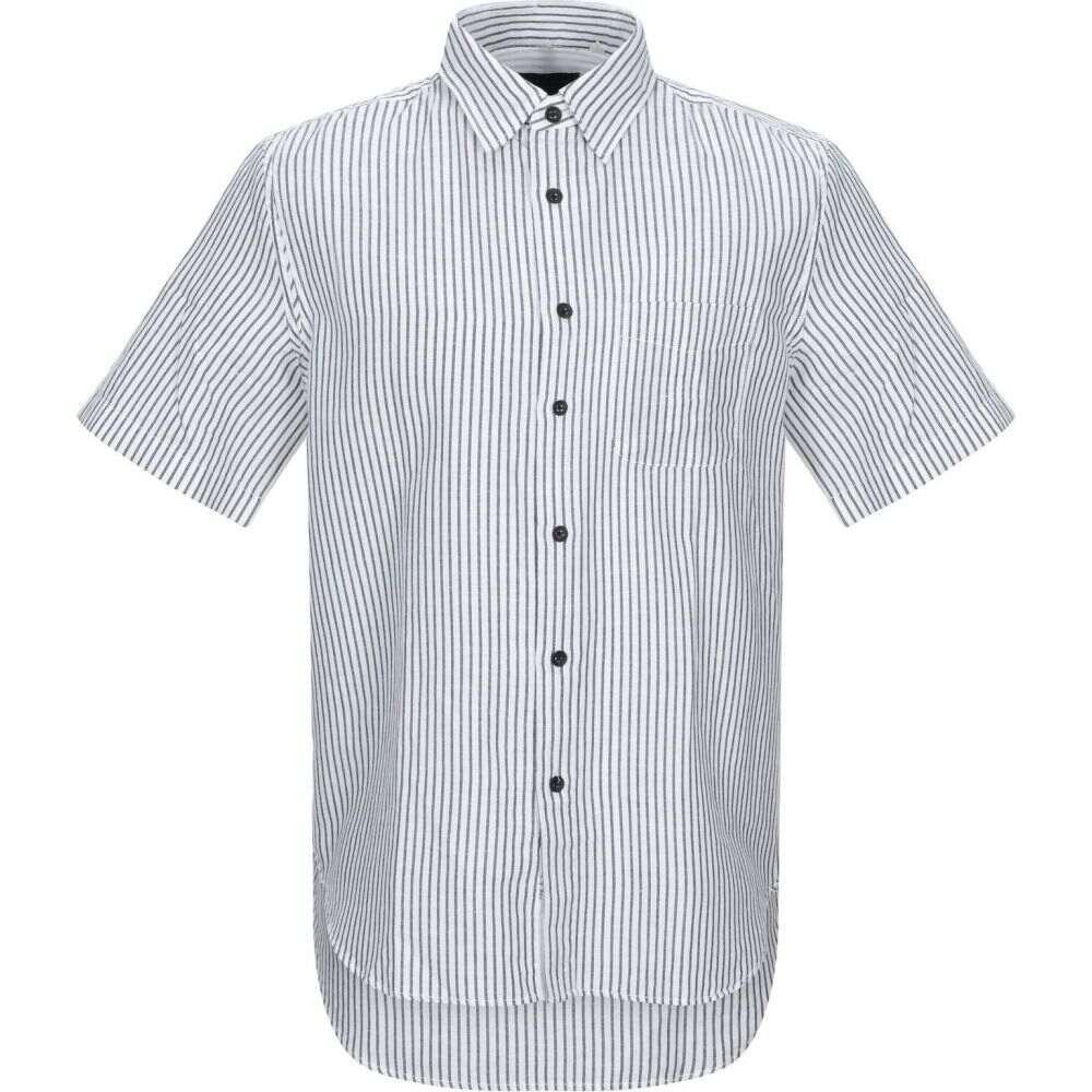 ラグ&ボーン RAG & BONE メンズ シャツ トップス【striped shirt】White
