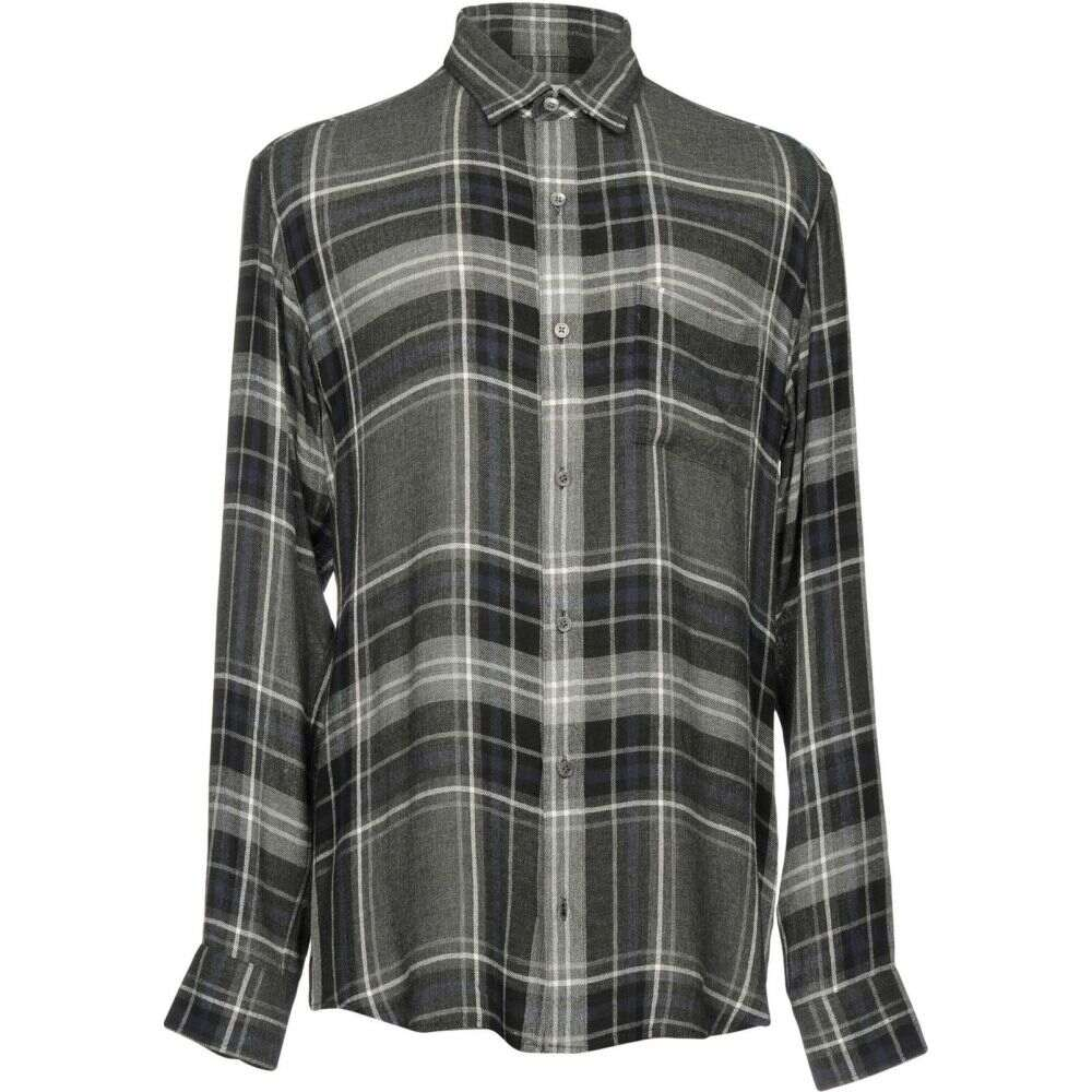 パブリック スクール PUBLIC SCHOOL メンズ シャツ トップス【checked shirt】Steel grey