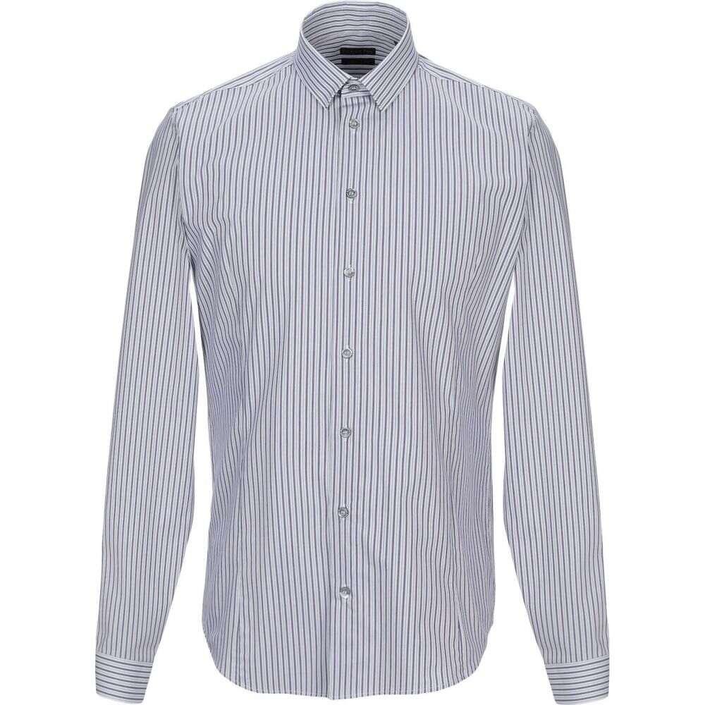 パトリツィア ペペ PATRIZIA PEPE メンズ シャツ トップス【striped shirt】Deep purple