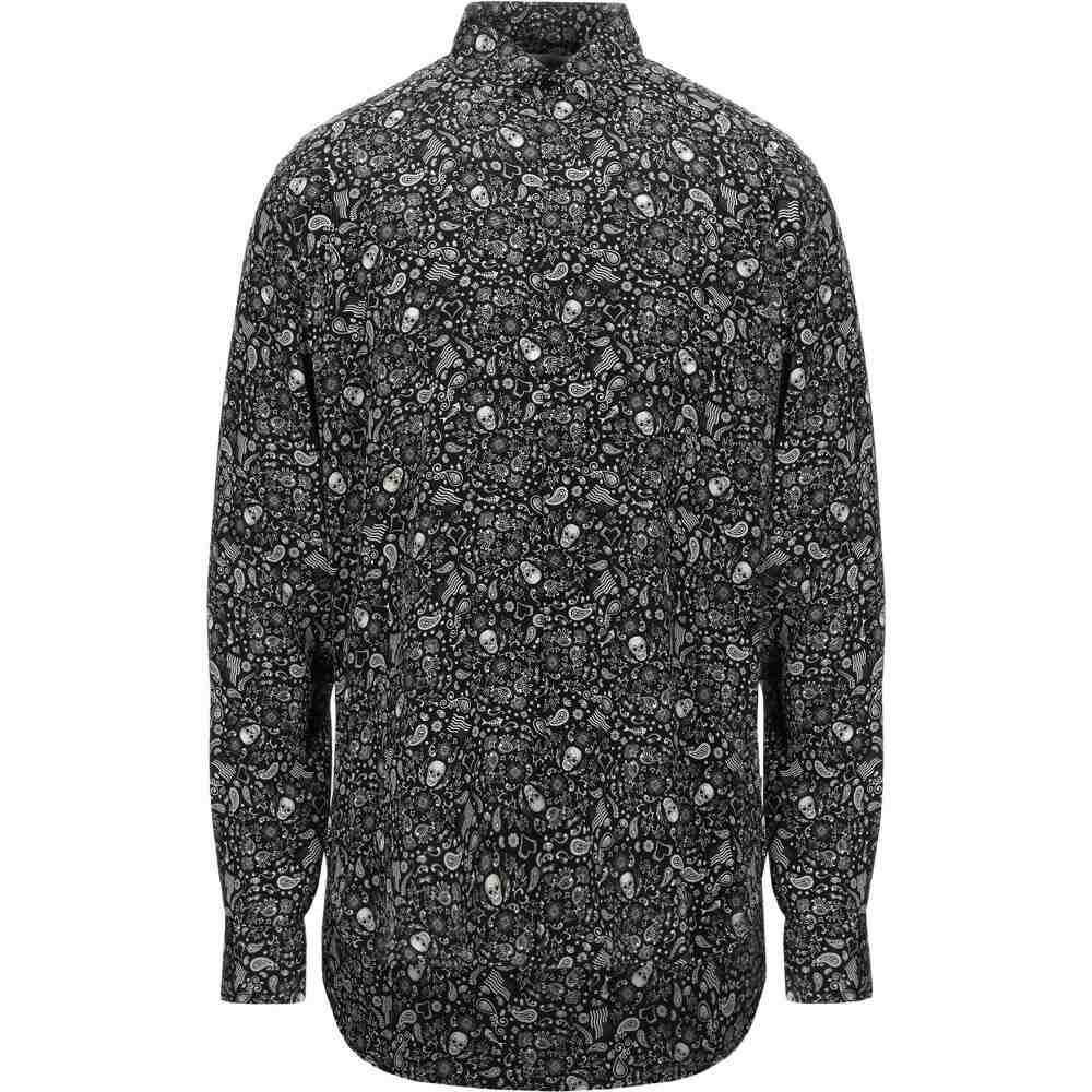 イヴ サンローラン SAINT LAURENT メンズ シャツ トップス【patterned shirt】Black