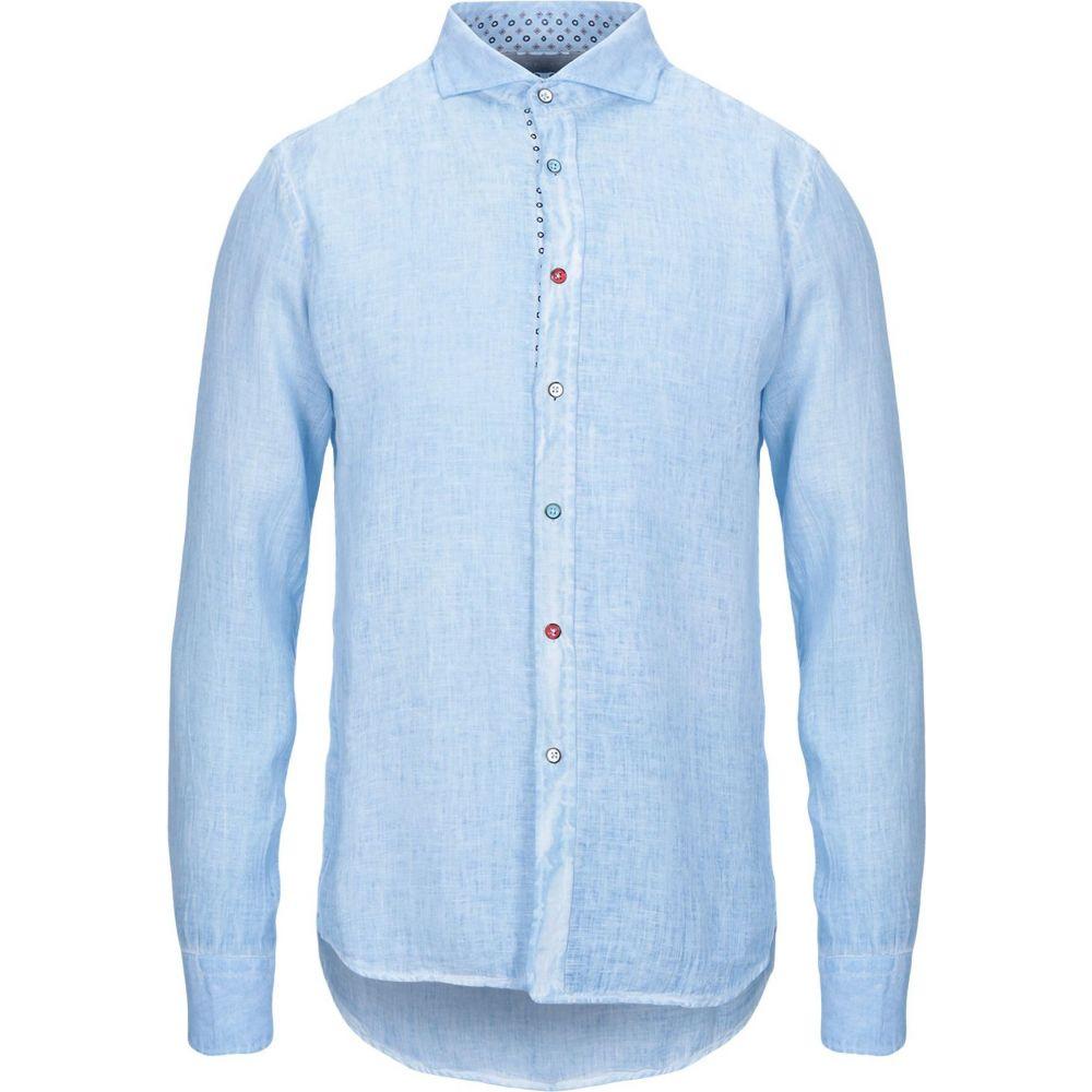 センス SSEINSE メンズ シャツ トップス【linen shirt】Sky blue