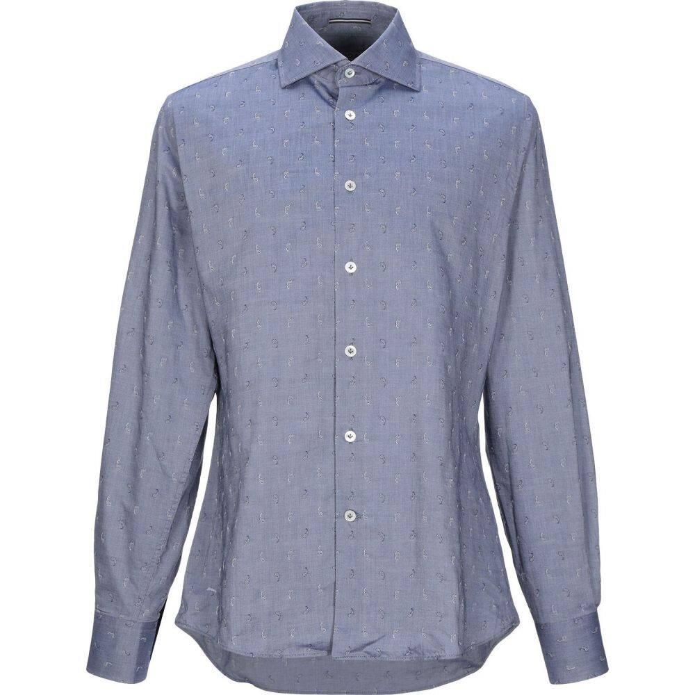 ロダ RODA メンズ シャツ トップス【patterned shirt】Slate blue