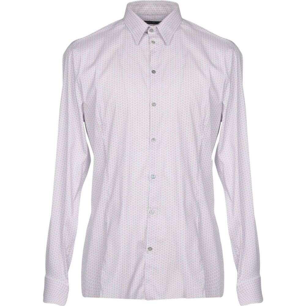 パトリツィア ペペ PATRIZIA PEPE メンズ シャツ トップス【patterned shirt】White