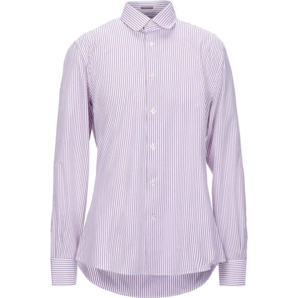ロダ RODA メンズ シャツ トップス【striped shirt】Purple