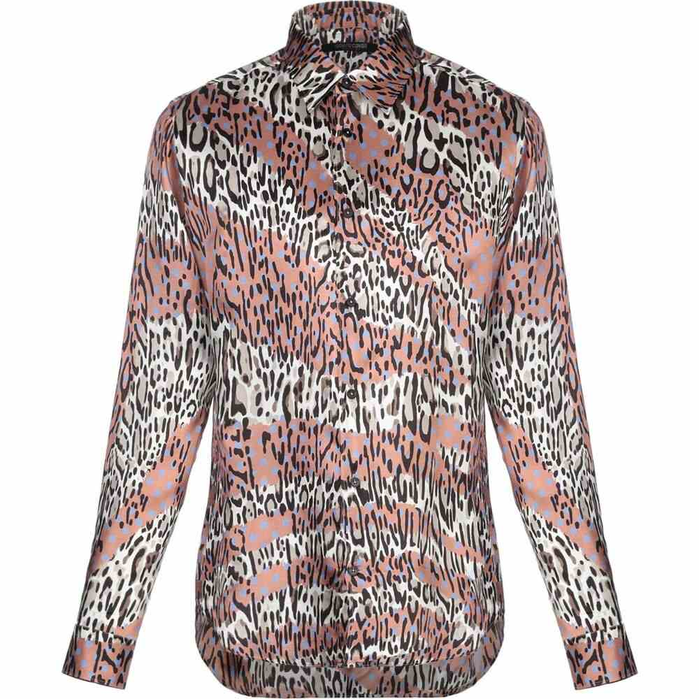 ロベルト カヴァリ ROBERTO CAVALLI メンズ シャツ トップス【patterned shirt】Light brown