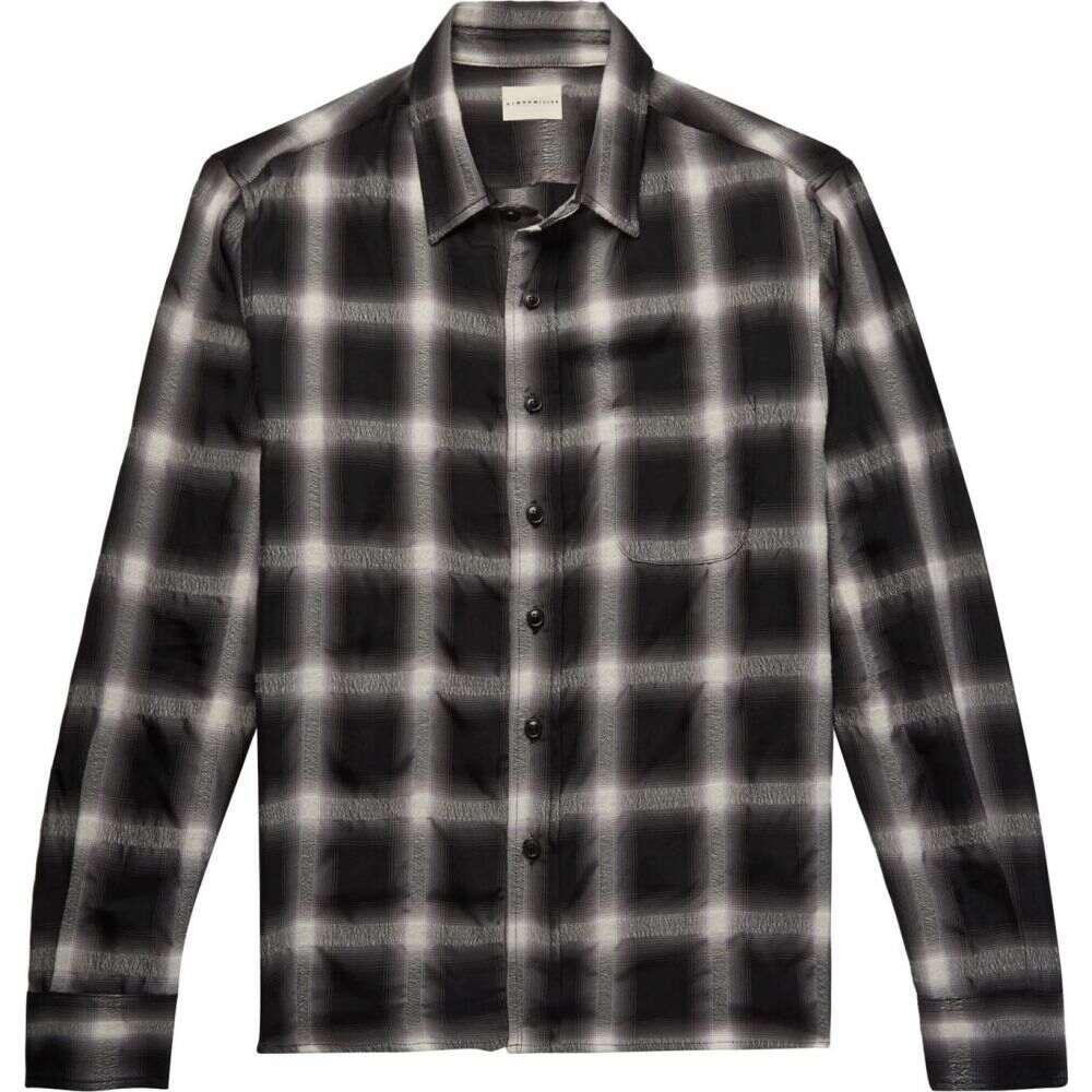 サイモンミラー SIMON MILLER メンズ シャツ トップス【checked shirt】Black