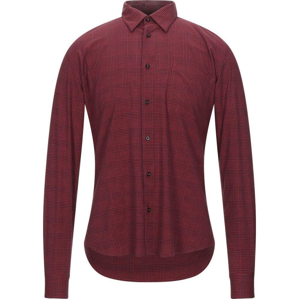 スティロソフィー インダストリー STILOSOPHY INDUSTRY メンズ シャツ トップス【checked shirt】Red