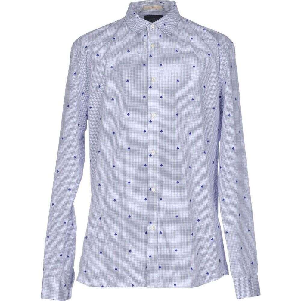 スコッチ&ソーダ SCOTCH & SODA メンズ シャツ トップス【checked shirt】Blue