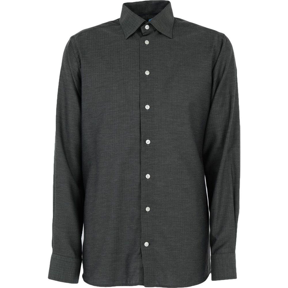 ロベルトフリードマン ROBERT FRIEDMAN メンズ シャツ トップス【patterned shirt】Dark green