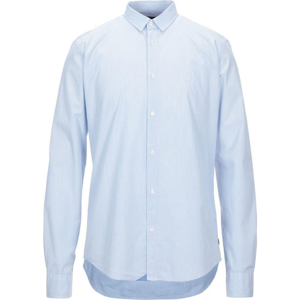 スコッチ&ソーダ SCOTCH & SODA メンズ シャツ トップス【striped shirt】Sky blue