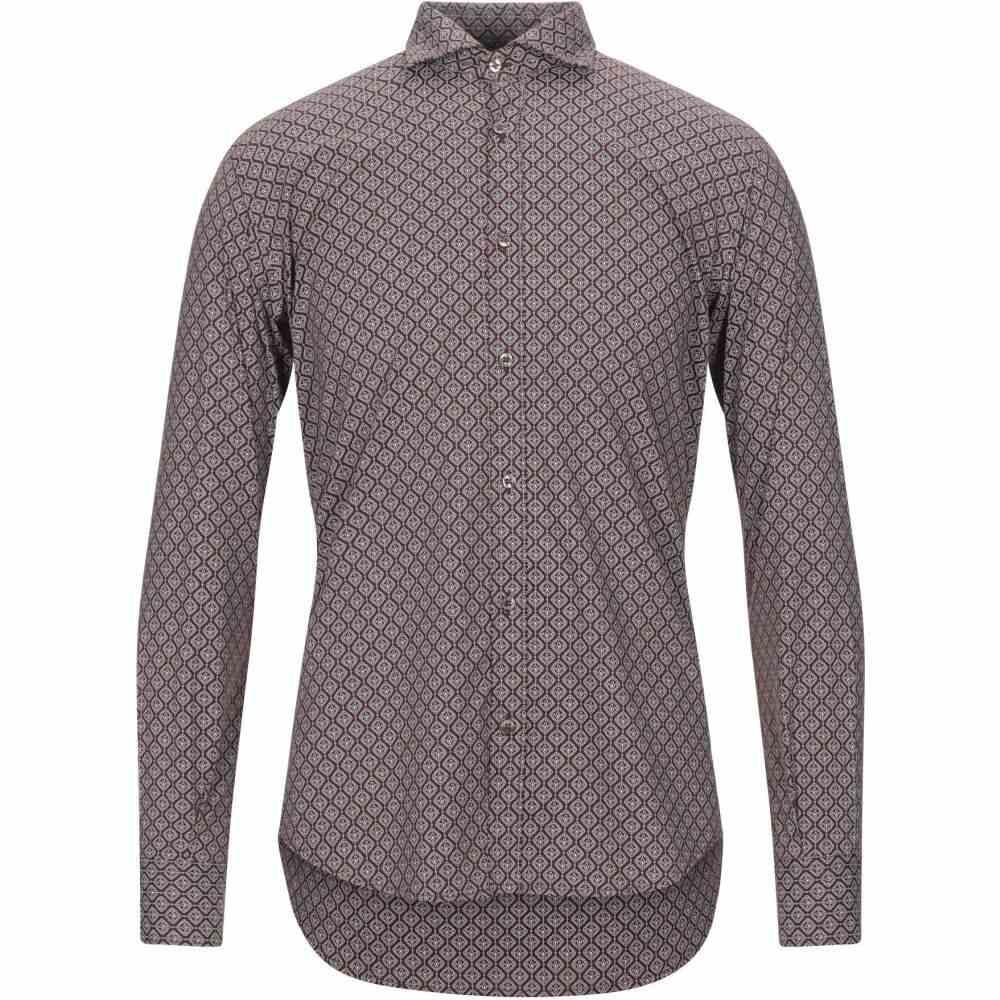 スティロソフィー インダストリー STILOSOPHY INDUSTRY メンズ シャツ トップス【patterned shirt】Maroon