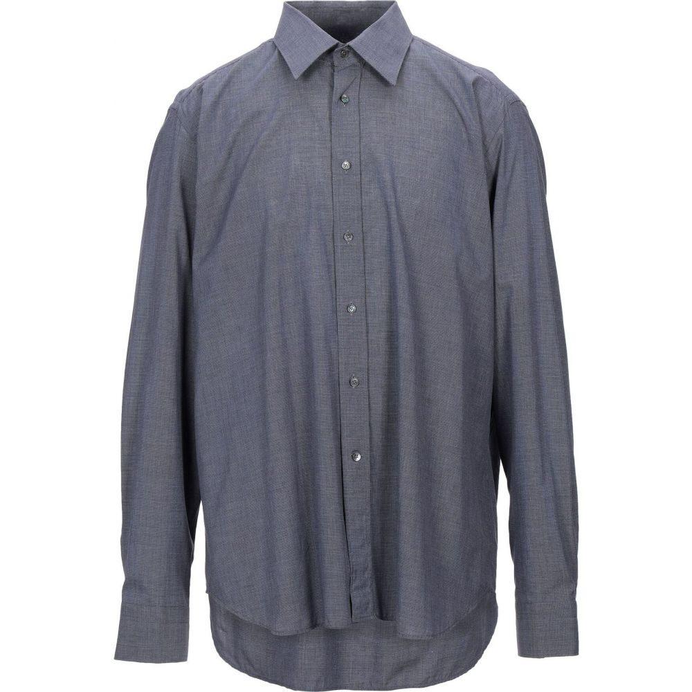 ロベルトフリードマン ROBERT FRIEDMAN メンズ シャツ トップス【patterned shirt】Dark blue