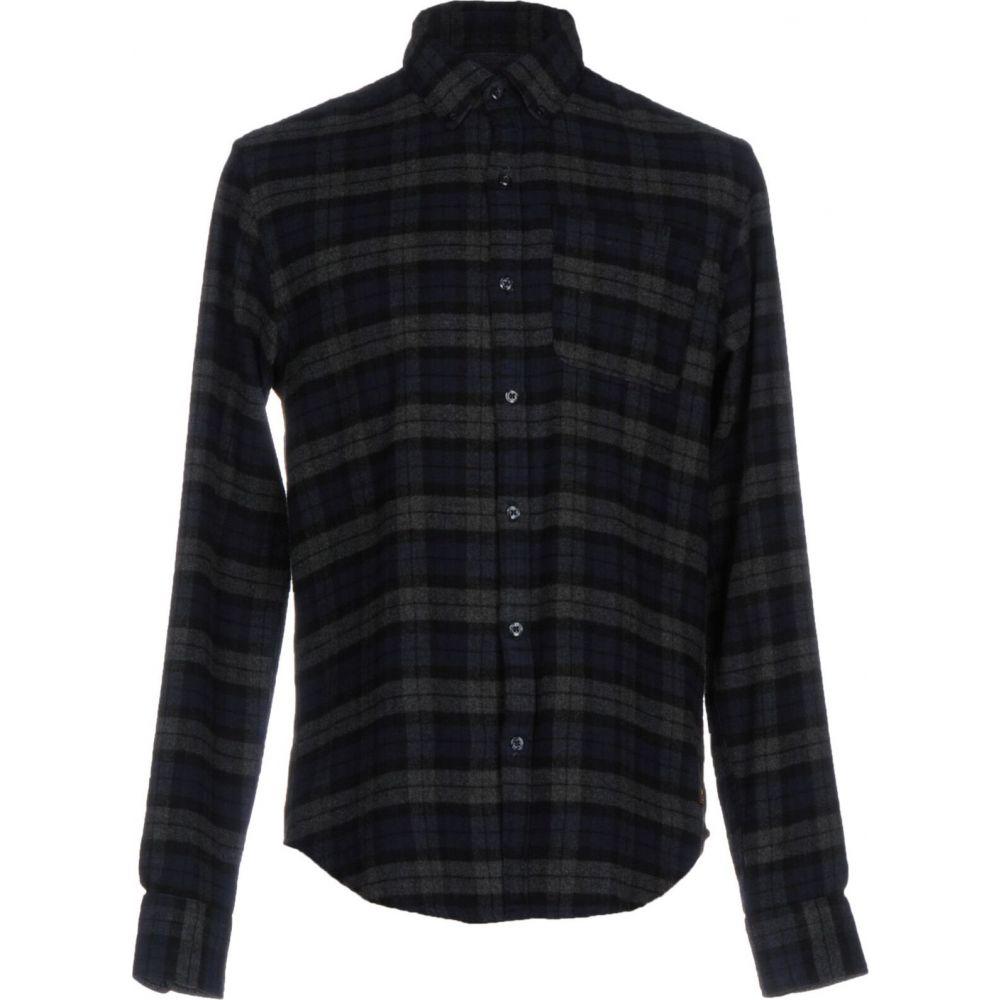 スコッチ&ソーダ SCOTCH & SODA メンズ シャツ トップス【checked shirt】Dark blue
