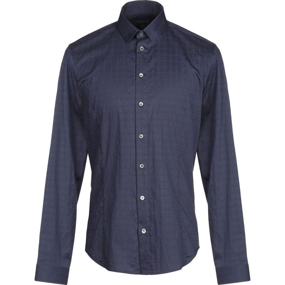 パトリツィア ペペ PATRIZIA PEPE メンズ シャツ トップス【patterned shirt】Dark blue