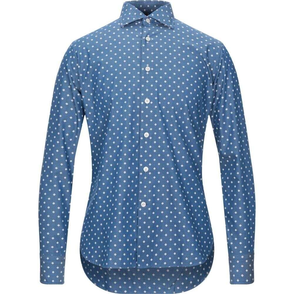 ロダ RODA メンズ シャツ トップス【patterned shirt】Blue