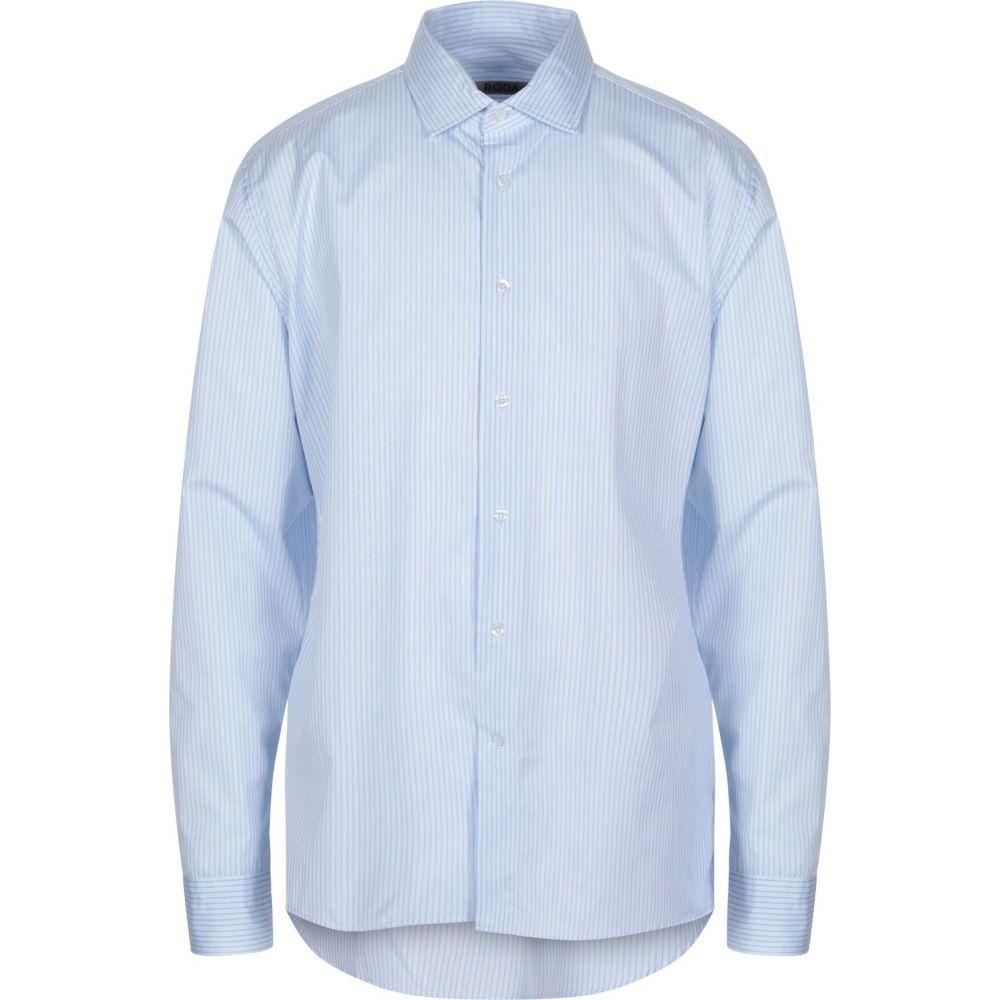 ロダ RODA メンズ シャツ トップス【striped shirt】Sky blue